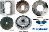 Sae-6 x Sae-7 Adapterflansch (H=15mm W.H.=11mm) für Technodrive Getriebe TMC260
