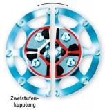 """6 1/2"""" Zweistufenkupplung für Technodrive Getriebe TMC260"""