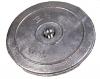 Ruderblattanode Aluminium Durchmesser 90mm