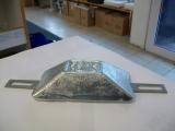 Rumpfanode Zink 1kg mit Laschen für Bolzenmontage HZ-2