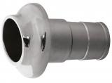 Borddurchlaß Auspuff NIRO Rohr 45mm