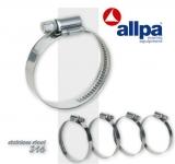 Schraubschlauchklemmen NIRO Durchmesser 46 - 70mm