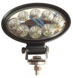 LED Deckscheinwerfer und Salingleuchte LED 8 x 3W, 50.000 Stunden, 10-30V