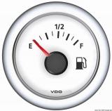 Treibstoffanzeiger 10/180 Ohm  VDO ViewLine Farbe weiß