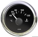 Wassertemperatur H2O 40/120C+105/250F  VDO ViewLine Farbe schwarz