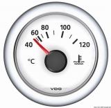 Wassertemperatur H2O 40/120C+105/250F  VDO ViewLine Farbe weiß