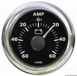 Amperemeter -60A + 60A VDO ViewLine Farbe schwarz