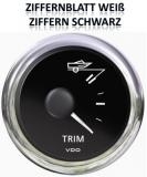 Anzeiger TRIM input 84-s  VDO ViewLine Farbe weiß