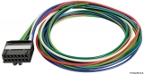 8-poliger Stecker TYCO/HIRSCHMANN (mit Kabel) VDO-Instrumente Serie ViewLine 27.599.11