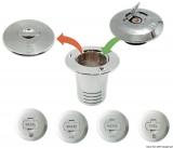 Abschließbare Verschlusskappe mit Schlüssel ohne Einfüllstutzen Typ WATER