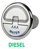 Einfüllstutzen Quick Lock Diesel gerade 50mm