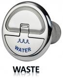 Einfüllstutzen Quick Lock Waste gerade 38mm