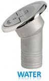 Einfüllstutzen Quick Lock Water abgewinkelt 30 Grad 38mm