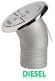 Einfüllstutzen Quick Lock Diesel abgewinkelt 30 Grad 50mm