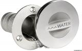Einfüllstutzen aus rostfreiem Edelstahl AISI 316 Mikrofusion WATER 38mm