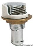 Tanklüfter aus verchromten Messing Schlauchanschluss 20mm