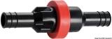 Sicherheitsventil für Treibstoff-Einfüllschlauch mit zweifacher Funktion