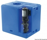 Schmutzwassertank mit integriertem Zerhacke 56 Liter 12V