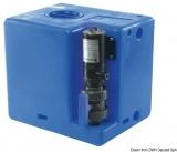 Schmutzwassertank mit integriertem Zerhacke 56 Liter 24V