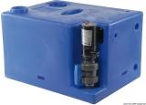Schmutzwassertank mit integriertem Zerhacker. 117 Liter 12V