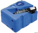Schmutzwassertank mit integriertem Zerhacke horizontal 40 Liter 12V