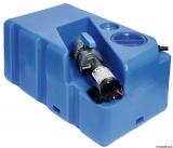 Schmutzwassertank mit integriertem Zerhacke horizontal 60 Liter 12V