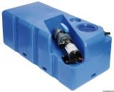 Schmutzwassertank mit integriertem Zerhacke horizontal 105 Liter 24V