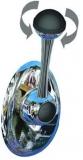 Teleflex CH2800 Einhebelfernbedienung mit Drehschalter