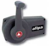 Teleflex A90 Einhebelbedienung Schwarz Schaltbox