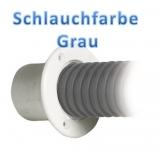 Spezialschlauch aus PVC für Kabel von Außenbordern Farbe grau
