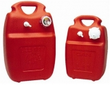 Treibstofftank aus Eltex 22 Liter Füllstandanzeige optisch, Durchsichtiger Streifen am Tank