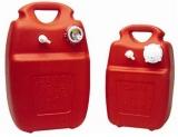 Treibstofftank aus Eltex 22 Liter Füllstandanzeige  mechanisch mit Geber u. Anzeigenadel im Deckel
