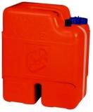 Kanister und Treibstofftank. Aus Polyethylen. 22 Ltr, mit 2 Ltr. Reservebehälter