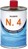 Verdünner Nr. 4, Verdünner für  Velox Plus, Metal Primer, Flexy Antifouling, Flexy Gummifarbe 500 ml