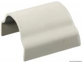 Abdeckprofil für den Übergang weiß für 40mm Schiene