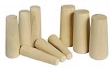 Leckstopfen Set aus 9 Notfallstopfen aus Holz von 20 bis 49mm