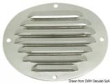 Ovale Lüftungsgitter 116x128mm