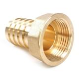 Schlauchanschluss 13mm mit Innengewinde aus Messing 1/4 Zoll
