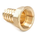 Schlauchanschluss 13mm mit Innengewinde aus Messing 3/8 Zoll