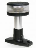 LED Navigations- Stablaterne 360° NIRO-Rohr mit  ABS-Fuß L=100mm, 12V
