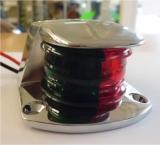 Positionslaterne 2 Farben Laterne 2 x 112° rot / grün Gehäuse Edelstahl