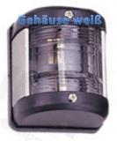 LED Positionslaternen für Boote bis 12m weiß 135°, Hecklaterne Gehäuse weiss