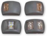 LED-Positionslaterne für Boote bis 12M Grün 112.5º