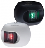 Aqua Signal Serie 34 LED Backbord Gehäuse schwarz  Licht Rot