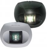 Aqua Signal Serie 34 LED Heck weißes Licht Gehäuse schwarz Licht 135 °