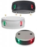 Aqua Signal Serie 34 LED Bi-Color 2 Farben Lampe  Gehäuse weiß Licht Rot Grün