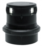 Aqua Signal Serie 34 LED Topp Dampferlicht 225 ° Gehäuse schwarz Licht 225 °