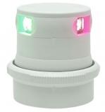 Aqua Signal Serie 34 LED Dreieinigkeit Tricolor 3 Farben Laterne Gehäuse weiß Licht 2 x 112,5° + 1 x 135°