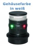 Aqua Signal Serie 34 LED Dreieinigkeit + Anker Tricolor + Anchor Gehäuse weiß Licht 135° 2x 112,5° 360°