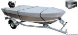 Abdeckplane für offene Boote  Länge 370/390 cm